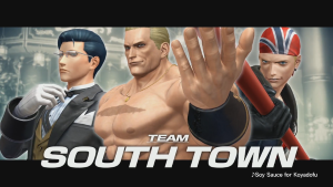The King of Fighters XIV Team South Town