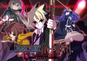 Under Night In Birth ExeLate Game Banner