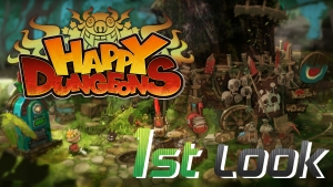 Happy Dungeons - First Look