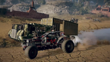 Crossout Convoy Escort Trailer
