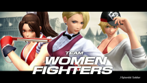The King of Fighters XIV Team Women Fighters
