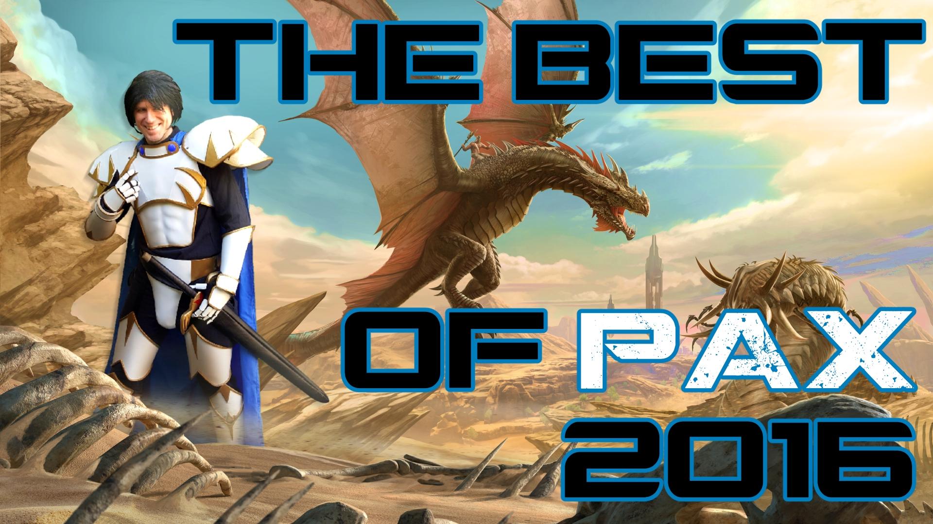 PAX West 2016 Recap + Cosplay Showcase