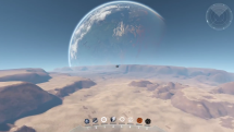 Dual Universe God Mode Tour Pre-Alpha Video