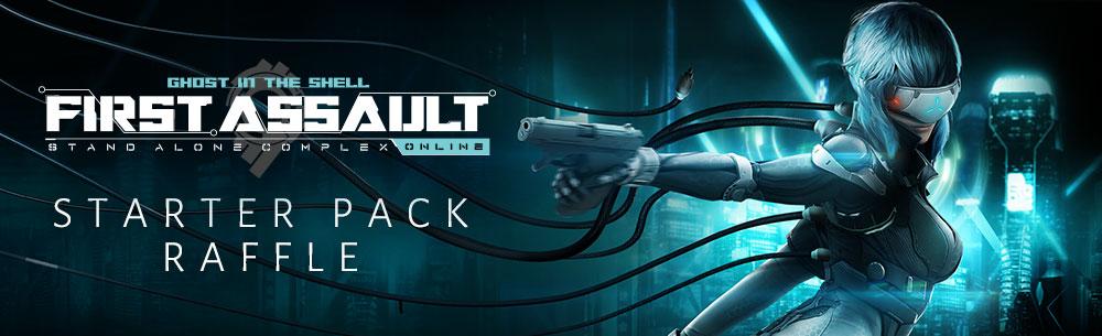 First Assault Starter Pack Raffle