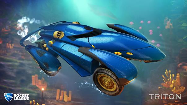 Rocket League AquaDome Available Today