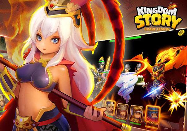 Kingdom Story Brave Legion Game Profile Banner