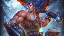 SMITE Hail to the King Tyr Skin Preview