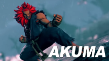 Street Fighter V Akuma Reveal Trailer