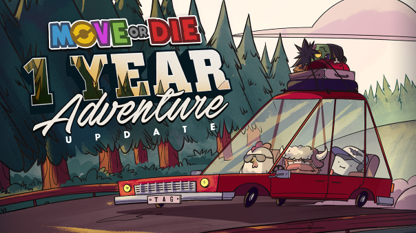 Move or Die News - 1 Year Adventure Update Available Now