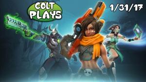 Colt Plays Paladins! [1/31/17]