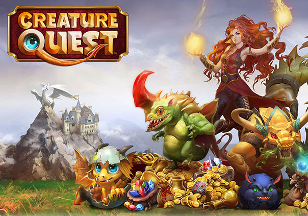 Creature Quest Game Profile Banner