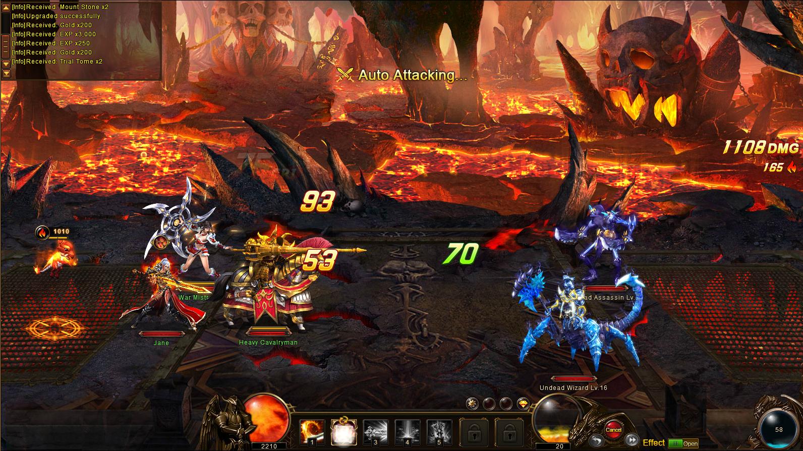 Draken Awaken Dungeon Combat