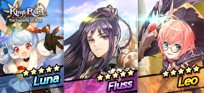 King's Raid News - Three New Heroes And More Features Added
