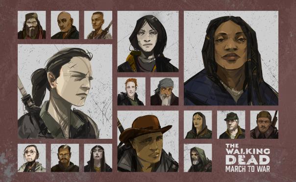The Walking Dead: March to War News - Survivor System Detailed