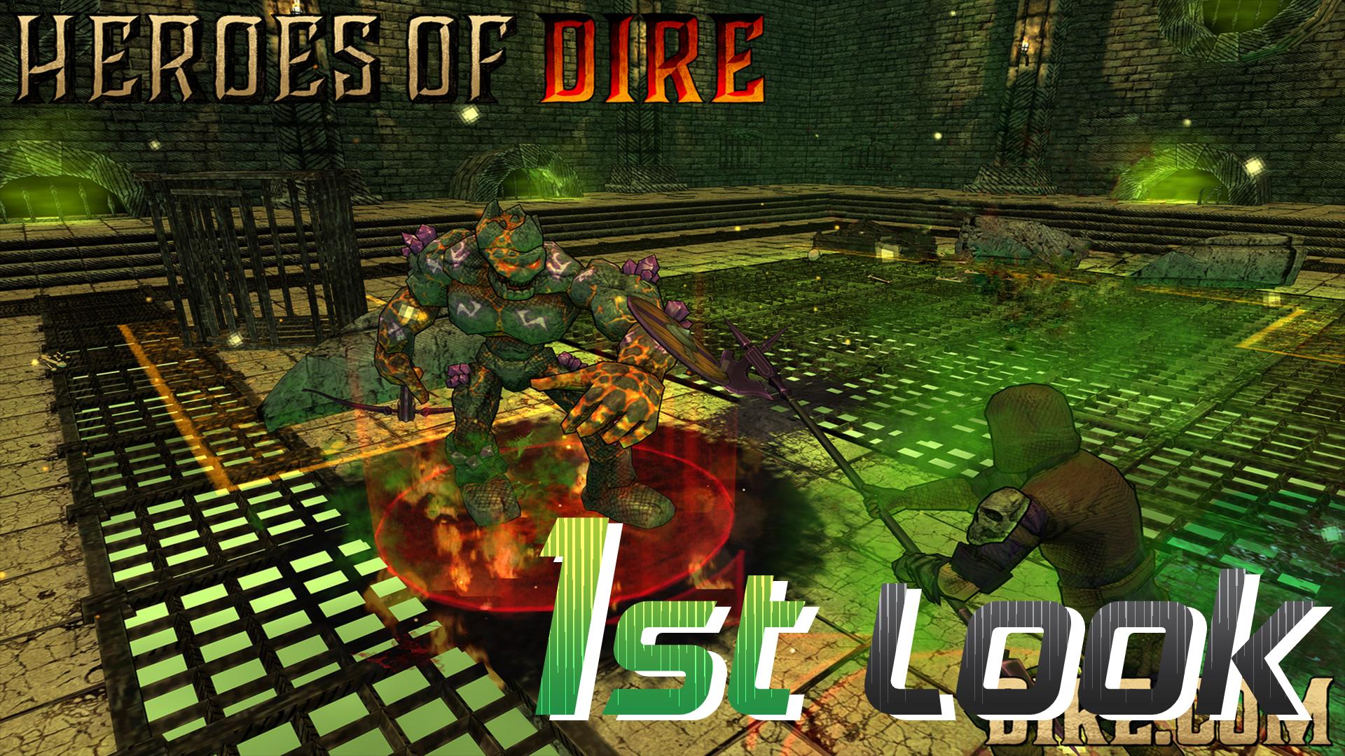 Heroes of Dire - First Look