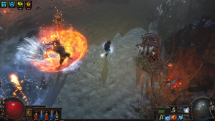 Path of Exile: The Fall of Oriath Abberath Fight Teaser