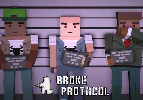 Broke Protocol Game Profile Banner