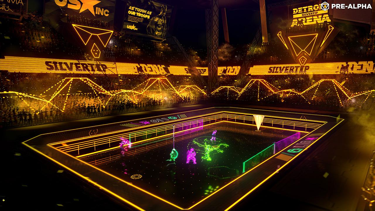 Laser League Screenshot - Detroit Arena
