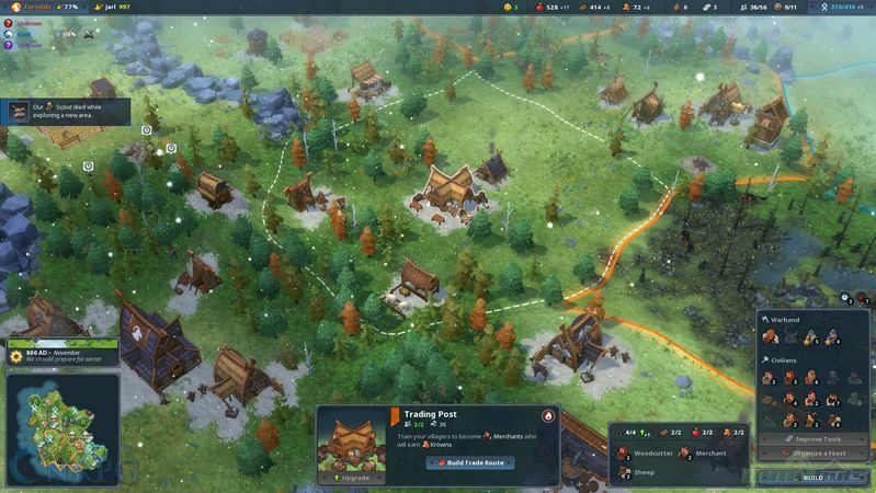 Northgard How To Get Food