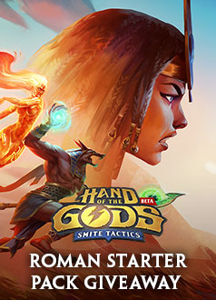 Hand of the Gods Roman Starter Pack Giveaway Banner