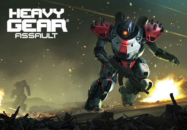 Heavy Gear Assault Game Profile Banner