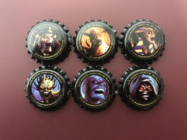 Iron Maiden - Brave New World Bottlecaps