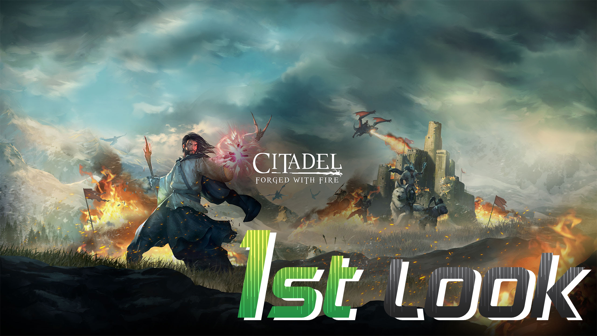 Colt takes a first look at Citadel: Forged with Fire, a new survival MMORPG from Blue Isle Games.