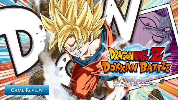 DragonBall Z Dokkan Battle Review Header Image