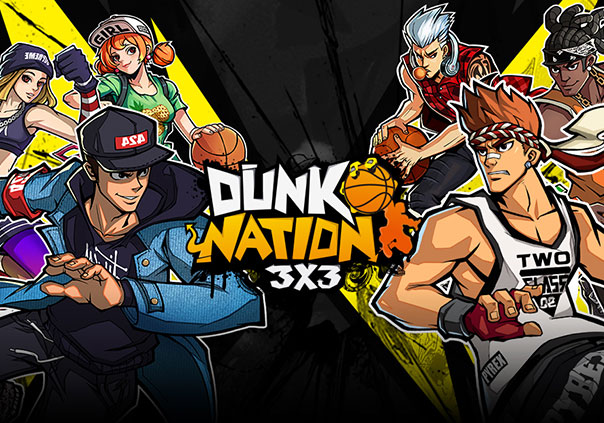 Dunk Nation 3x3 Game Profile Banner