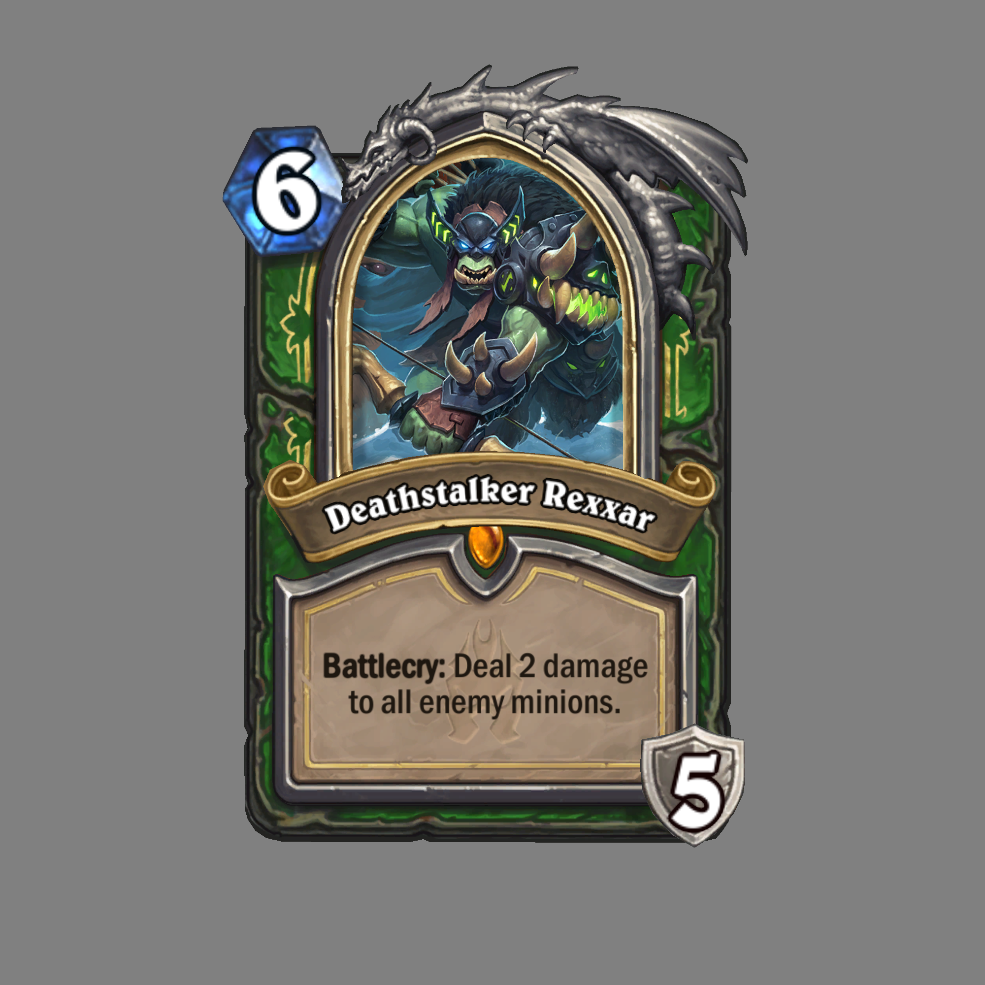 Hearthstone: Knights of the Frozen Throne Card Art