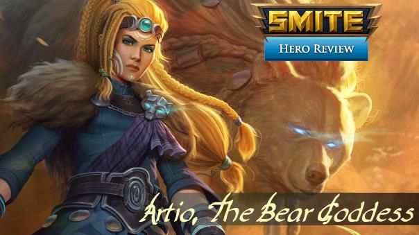 SMITE Artio Build Review Header Image