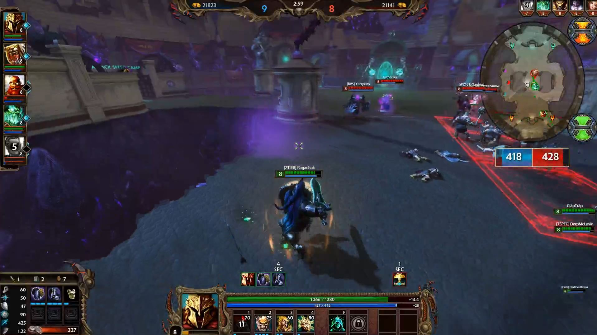 SMITE: Corrupted Arena Impressions