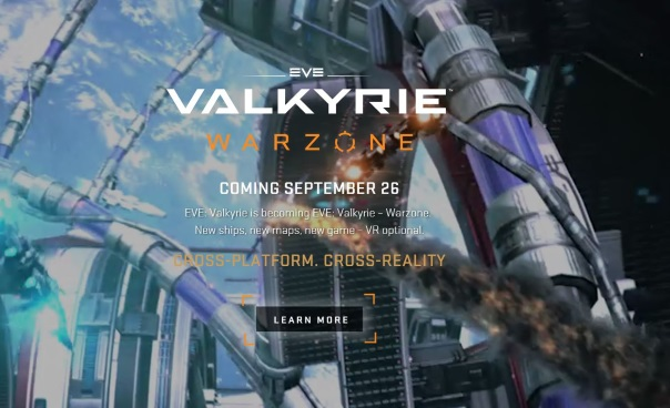 Welcome to the next life - EVE_ Valkyrie - Main Image