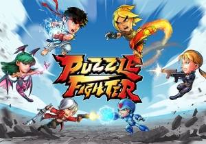 Puzzle Fighter Game Profile Banner
