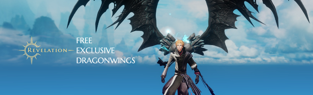 Revelation Online Dragon Wings Exclusive MMOHuts Banner