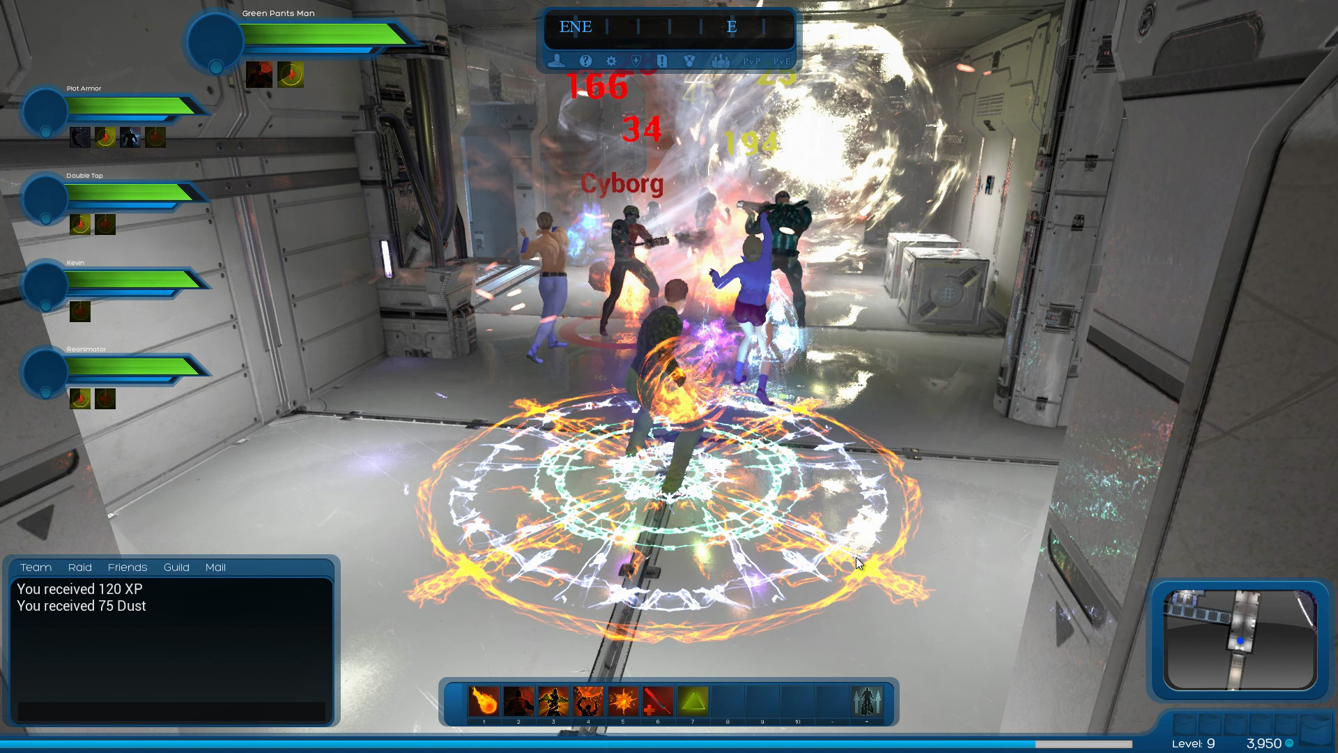 Ship of Heroes Mission Instances