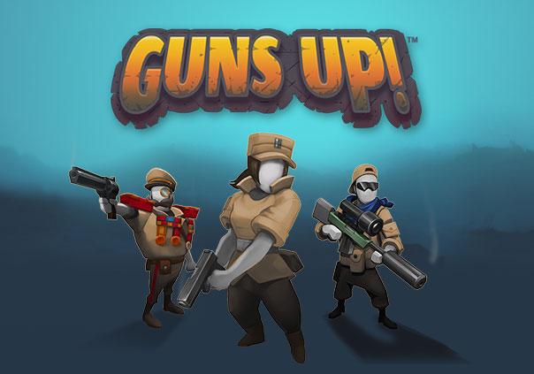Guns Up! Game Profile Banner