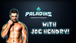 Colt and Jason teach Joe Hendry to play Paladins!