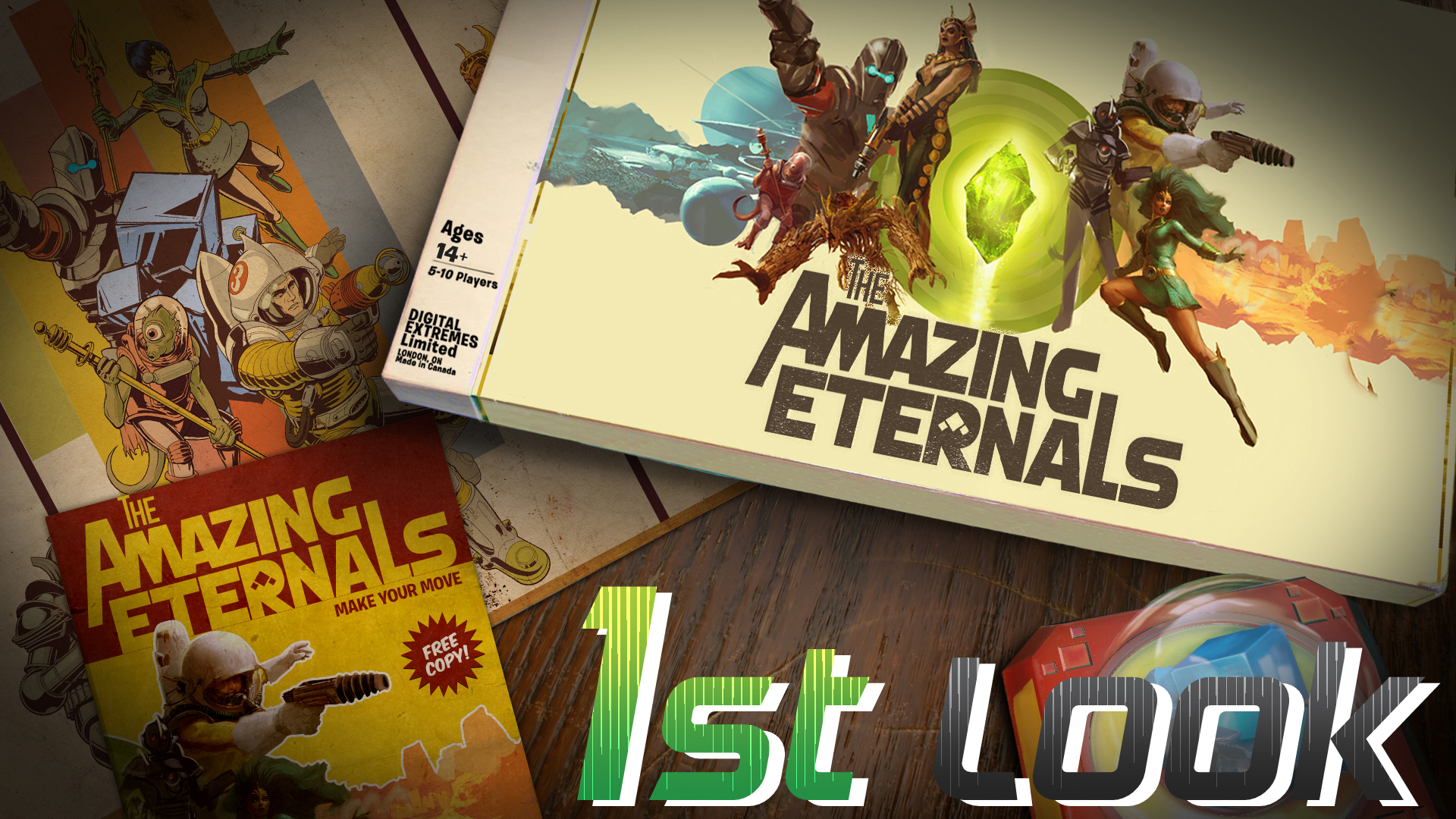 The Amazing Eternals First Look Thumbnail