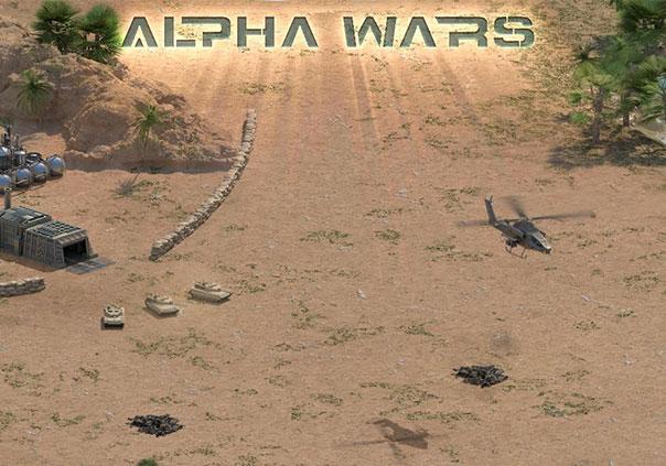 Alpha Wars Game Profile Banner