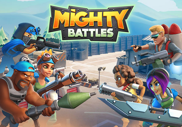 Mighty Battles Game Profile Banner