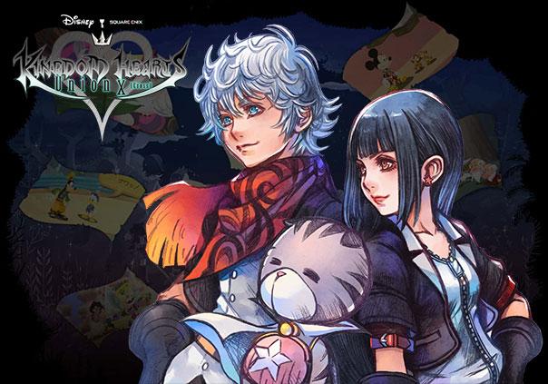 Kingdom Hearts Union X Game Profile Banner