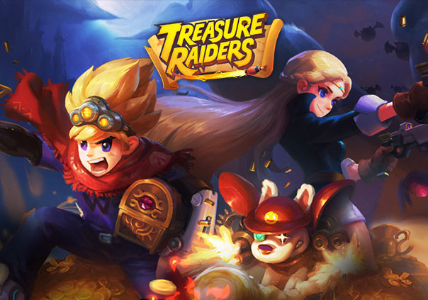 Treasure Raiders Game Profile Banner